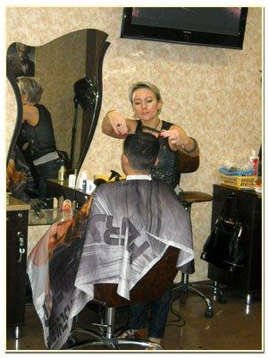 Укладка волос стрижка бороды